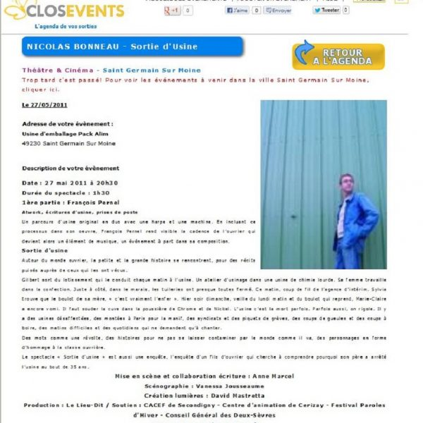 Closevent